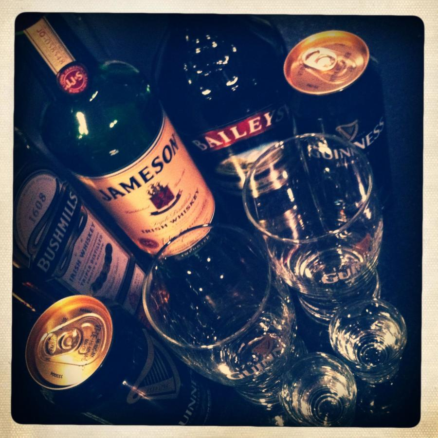 Irish Car Bomb, Cocktail Recipe With Drink Picture