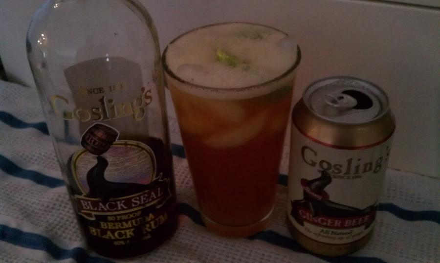 Dark-n-Stormy, cocktail recipe with drink picture - SeeMyDrink.com