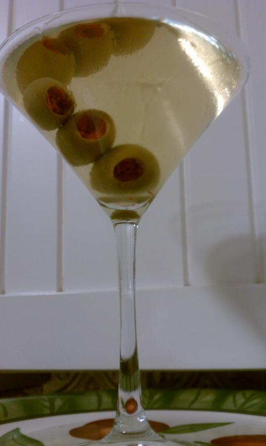 Dry Martini Cocktail Cocktail Recipe With Drink Picture